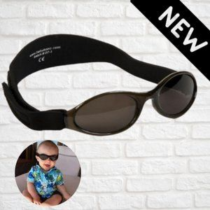 Baby Banz Adventure Sunglasses, Black NEW